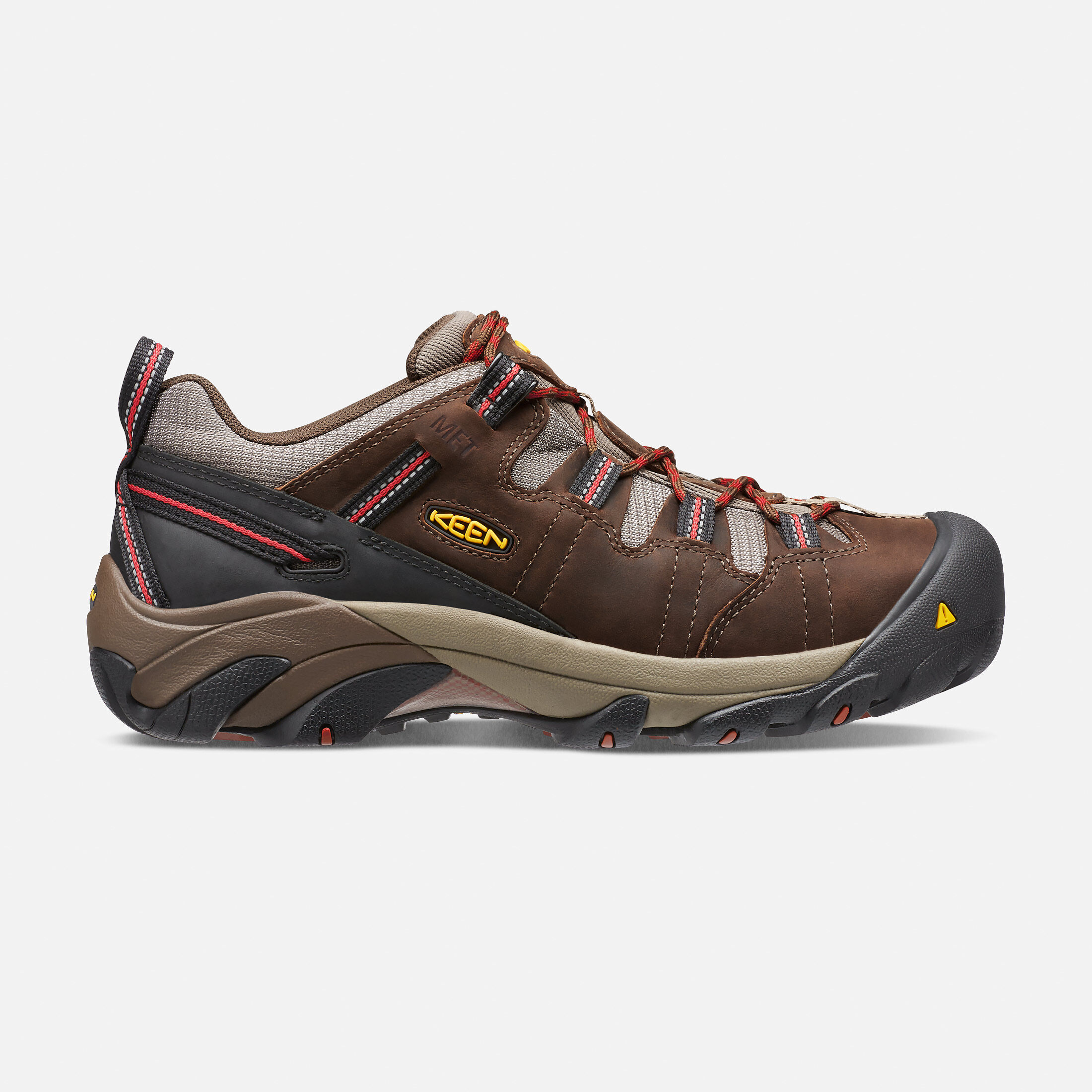 Men's DETROIT LOW INTERNAL MET (Steel Toe) in Cascade Brown/Bossa Nova -
