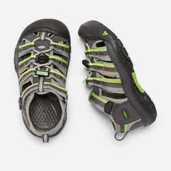 YOUNGER KIDS' NEWPORT H2 SANDALS in Racer Gray - small view.