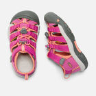 NEWPORT H2 SANDALES POUR ENFANTS in VERY BERRY/FUSION CORAL - small view.
