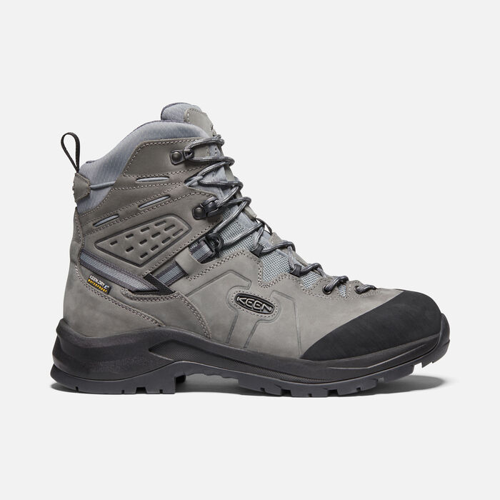 Men's Karraig Waterproof Hiking Boots. in BUNGEE CORD/GREEN GABLES - large view.