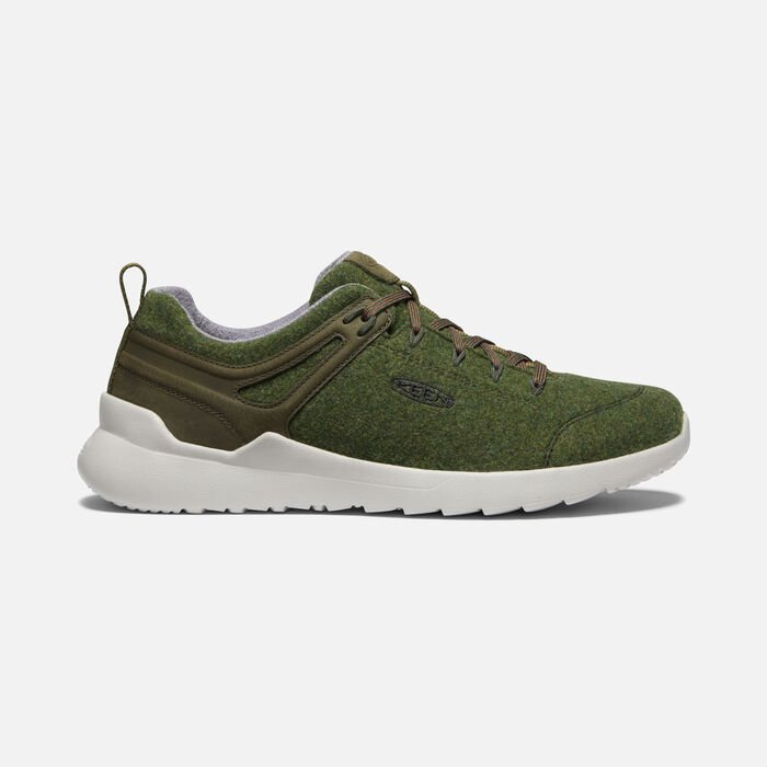 Men's Highland Arway Sneaker in Olive/Forest Night - large view.