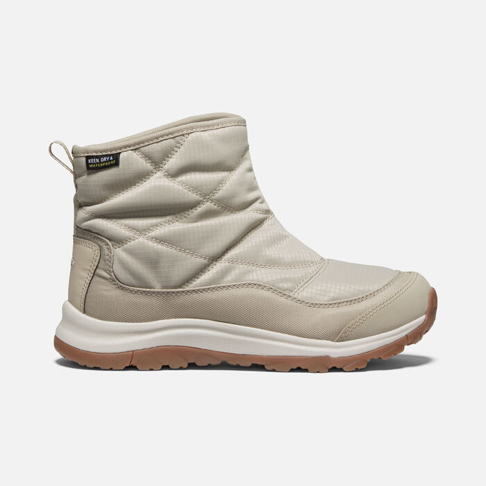 Women's Terradora II Winter Waterproof Pull On in Plaza Taupe/Silver Birch - large view.