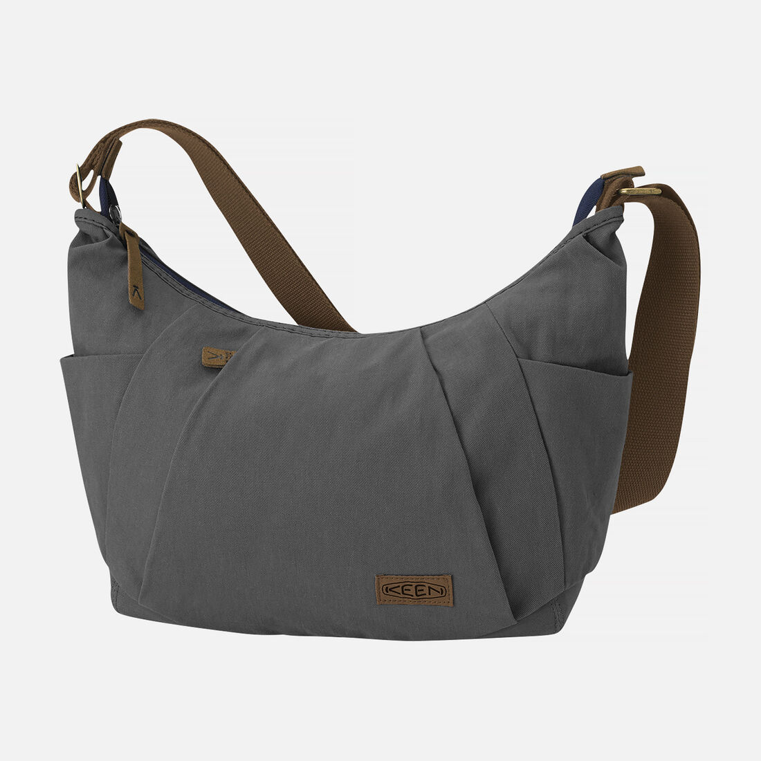 Women's Westport Shoulder Bag (Brushed Twill) in Mason Gray - large view.