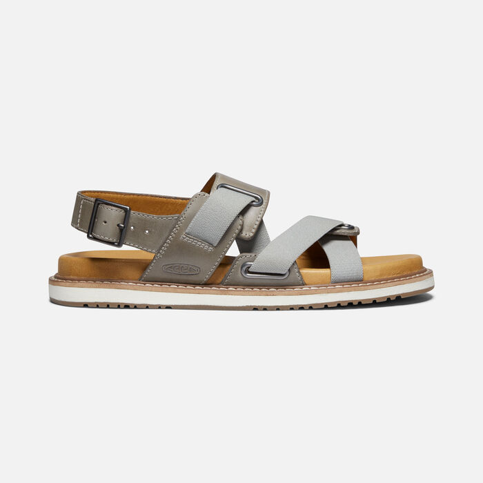 Women's Lana Z-Strap Casual Sandals in Drizzle/Silver Birch - large view.