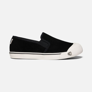 Men's Coronado III Suede Slip-On in BLACK - large view.