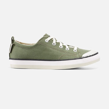 Women's ELSA SNEAKER in Deep Lichen - large view.