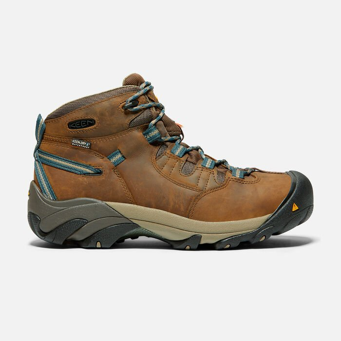 CSA Oshawa Mid (Steel Toe) pour homme in Slate Black - large view.