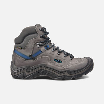 MEN'S GALLEO WATERPROOF HIKING BOOTS in MAGNET/BLUE OPAL - large view.