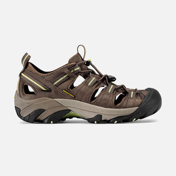Women's Arroyo II Sandals in Chocolate Chip/Sap Green - large view.