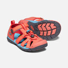 Big Kids' SEACAMP II CNX in Coral/Poppy Red - small view.