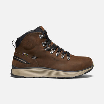 """Men's MANCHESTER 6"""" WP (ALUMINUM TOE) in CASCADE BROWN/BRINDLE - large view."""