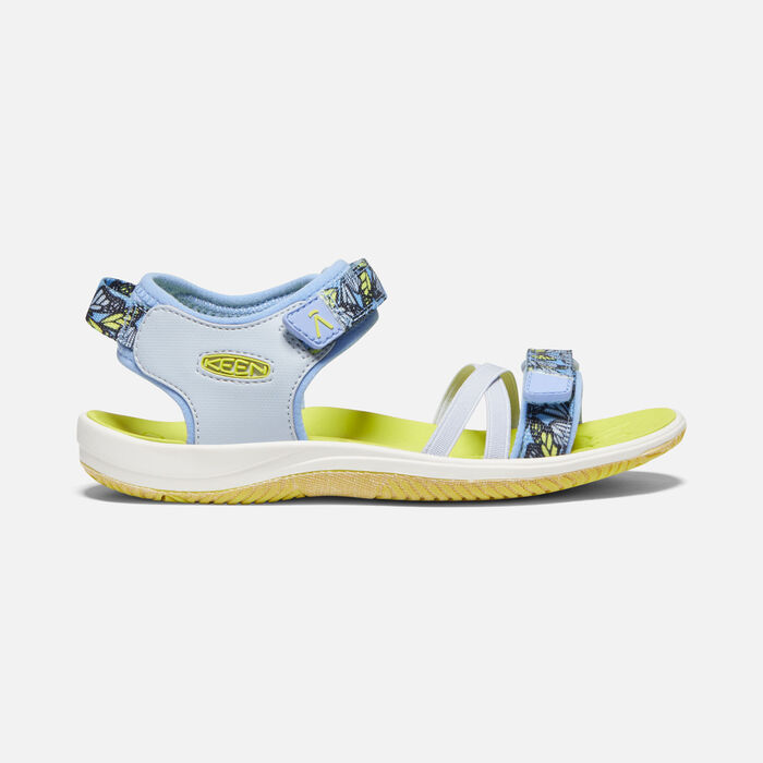 Big Kids' Verano Sandal in Hydrangea/Evening Primrose - large view.