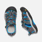 Younger Kids' Newport H2 Sandals in Magnet/Brilliant Blue - small view.