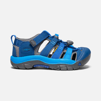Little Kids' Newport H2 in BLUE OPAL/VIBRANT BLUE - large view.