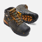 "CSA Hudson 6"" Waterproof Boot (Steel Toe) Pour homme in Raven/Inca Gold - small view."