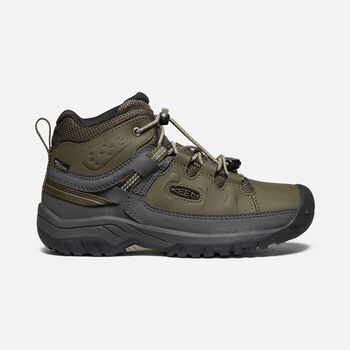 Targhee Waterproof Boot Pour Jeunes in Bungee Cord/Dark Olive - large view.