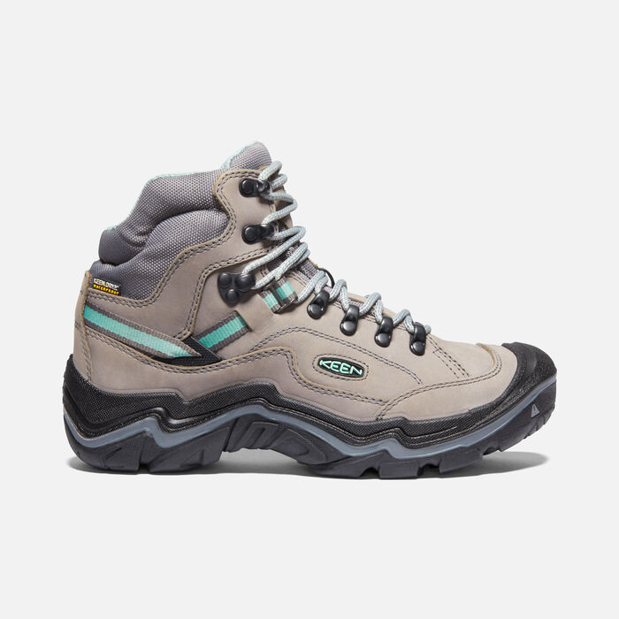 DURAND II MID WP POUR FEMME in GREY FLANNEL/STEEL GREY - large view.