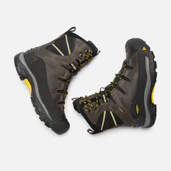 Men's Summit County Waterproof Boot in Dark Shadow/Yellow - small view.
