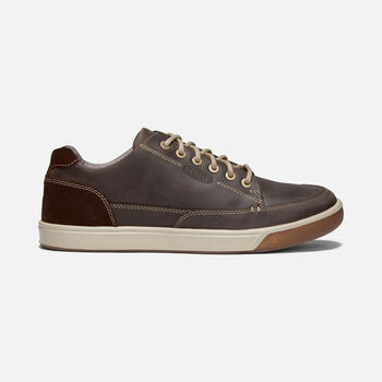 Glenhaven Sneaker Pour Homme in MULCH/ROOIBOS TEA - large view.