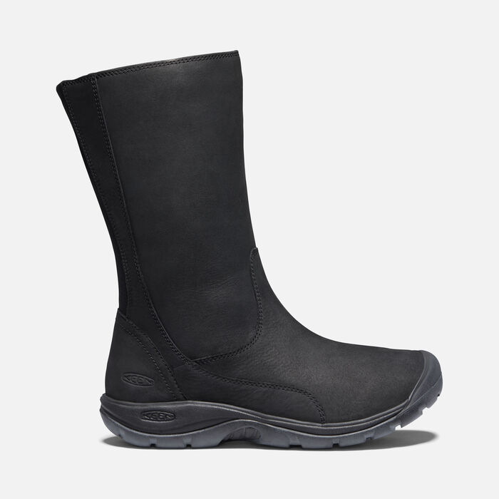 PRESIDIO II BOOT POUR FEMME in Black/Black - large view.