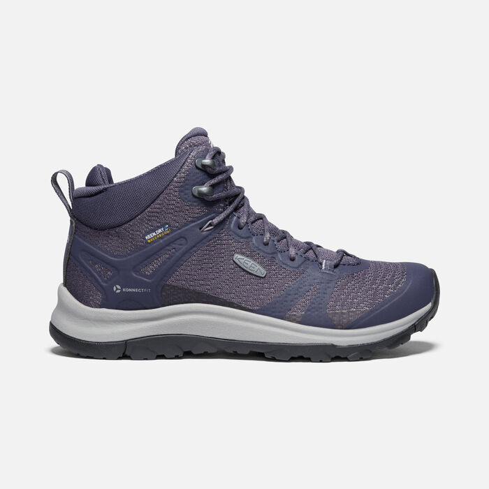 TERRADORA II MID WP BOOT POUR FEMME in Graystone/Shark - large view.
