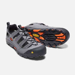 Men's Commuter IV Bike Sandal in Gargoyle/Koi - small view.