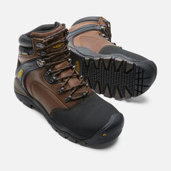 "Men's Louisville 6"" Boot (Steel Toe) in Slate Black - small view."