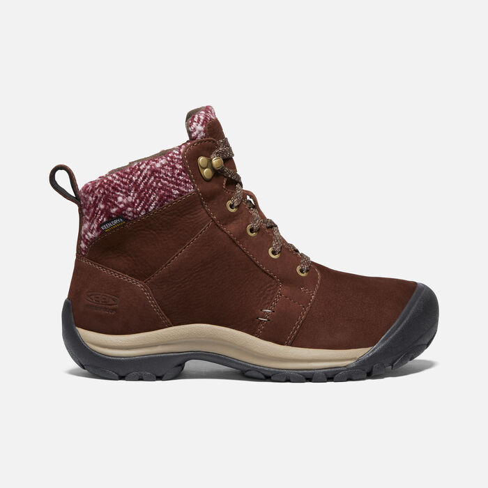 KACI II WINTER WP BOOT POUR FEMME in Chestnut/Brindle - large view.
