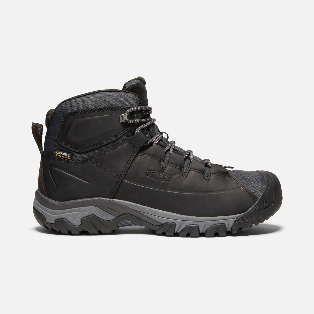 3740ed68cce2d1 Men s Targhee Lace Waterproof Boot in BLACK RAVEN - large view.