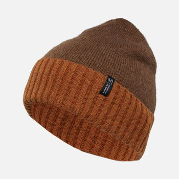Locale Beanie in Rust - large view.