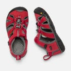 SEACAMP II CNX SANDALES POUR ENFANTS in RACING RED/GARGOYLE - small view.