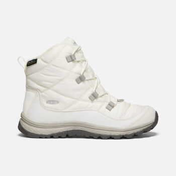 Women's Terradora Waterproof Winter Ankle Boots in STAR WHITE/STAR WHITE - large view.