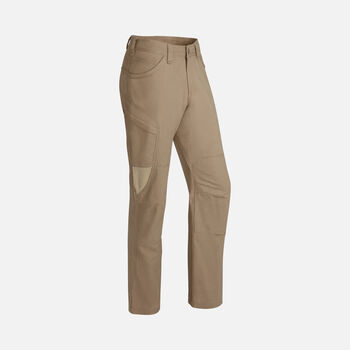 Men's Newport Casual Cargo Trousers in Cork/Khaki - large view.