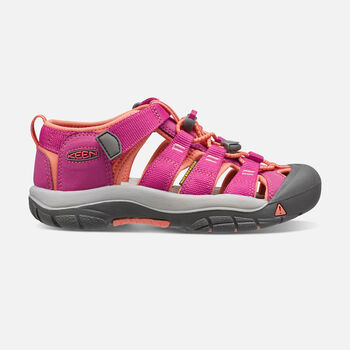 NEWPORT H2 SANDALES POUR ENFANTS in VERY BERRY/FUSION CORAL - large view.