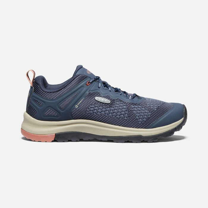 Women's Terradora II Vent Shoe in Blue Nights/Redwood - large view.