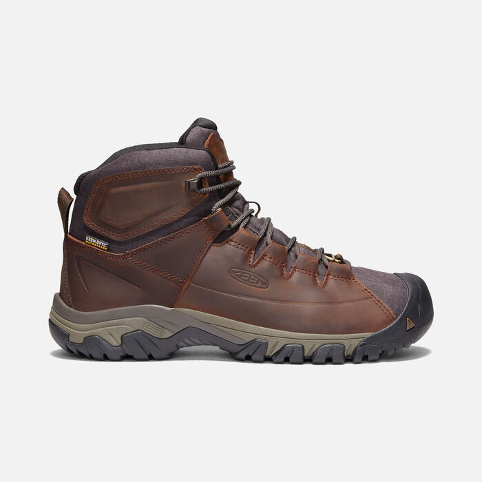 Men's Targhee Lace Waterproof Boot in Cocoa/Mulch - large view.