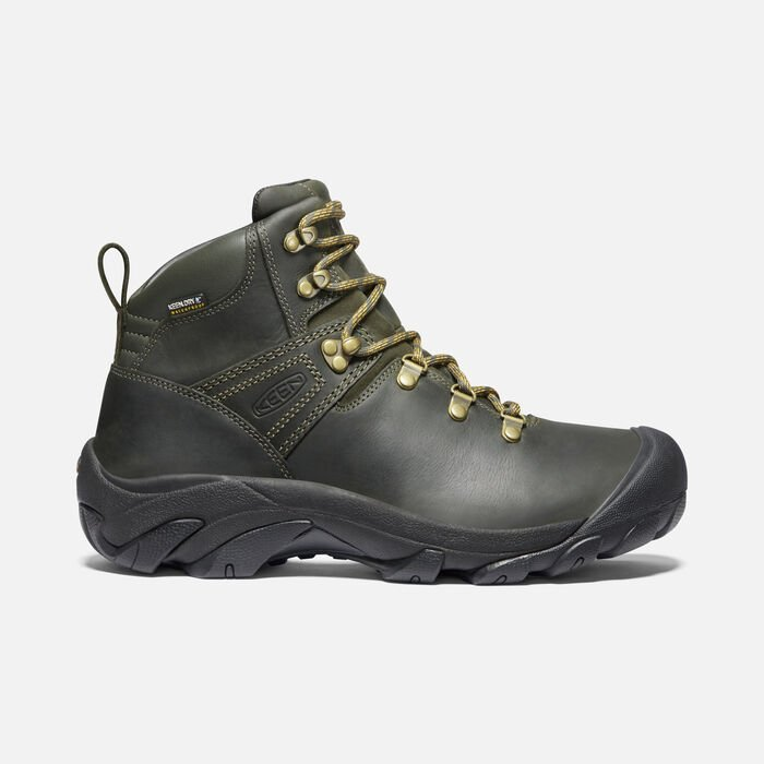 Men's Pyrenees in Forest Night/Black - large view.