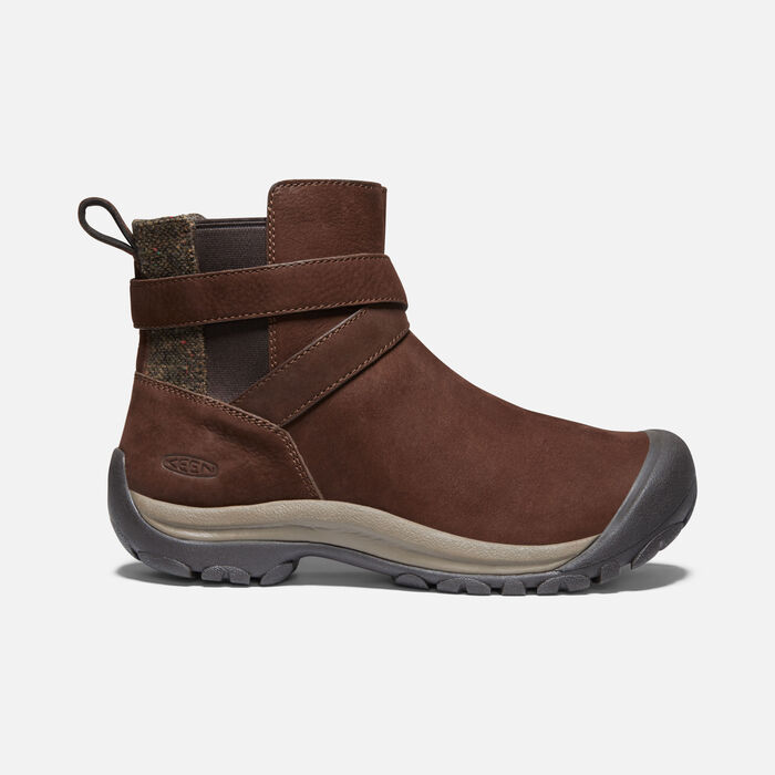 Women's Kaci II Winter Pull On Boot in Chestnut/Canteen - large view.
