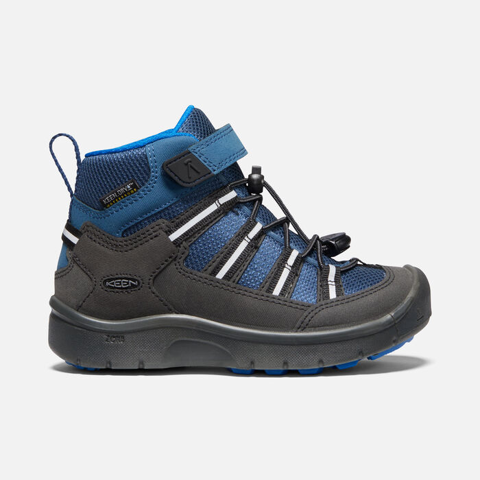 Little Kids' Hikeport II Sport Waterproof Boot in Majolica/Sky Diver - large view.