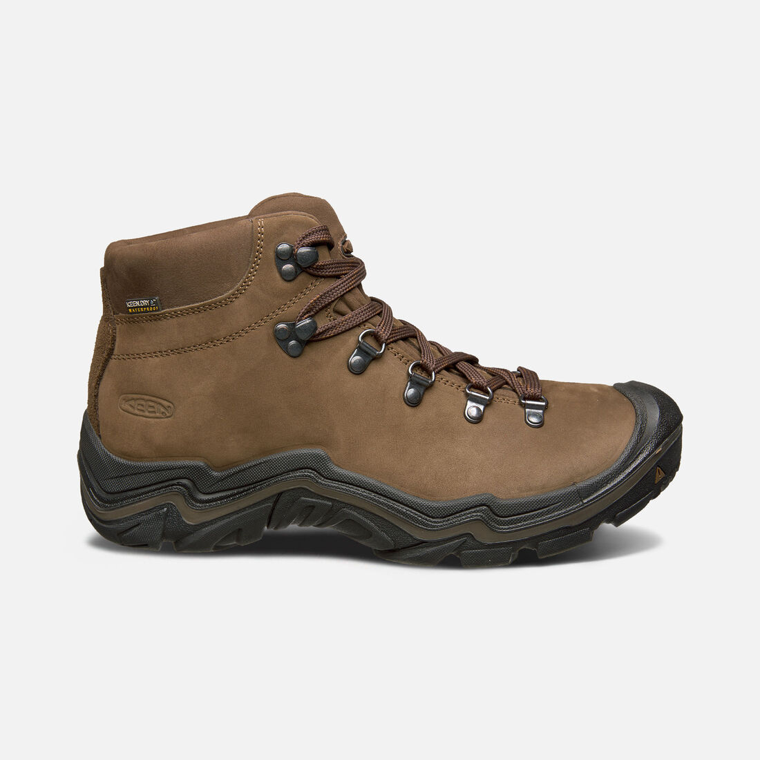 Men's Feldberg Waterproof in Dark Earth/Cascade Brown - large view.