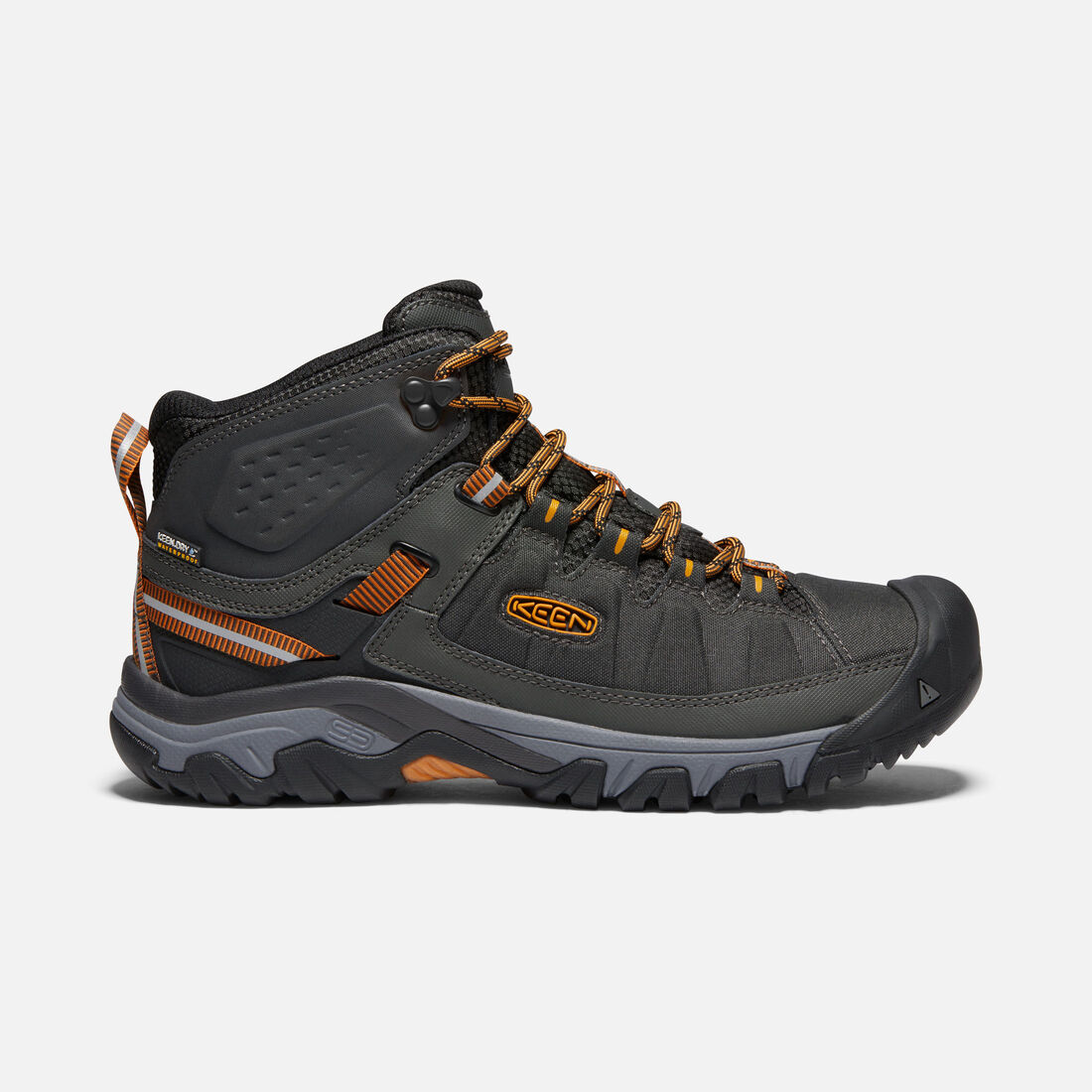 MEN'S TARGHEE EXP WATERPROOF MID HIKING BOOTS in RAVEN/INCA GOLD - large view.