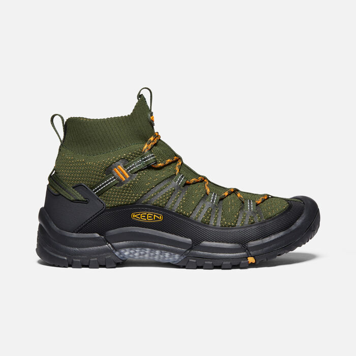 Men's AXIS EVO Mid in OLIVE NIGHT/MARIGOLD - large view.