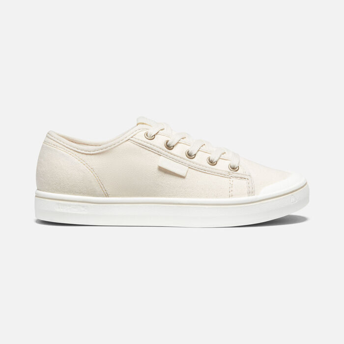 Women's Elsa Lite Sneaker in Natural/White - large view.