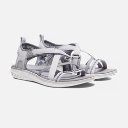 WOMEN'S MAYA STRAP SANDALS in Neutral Grey/Vapor - small view.