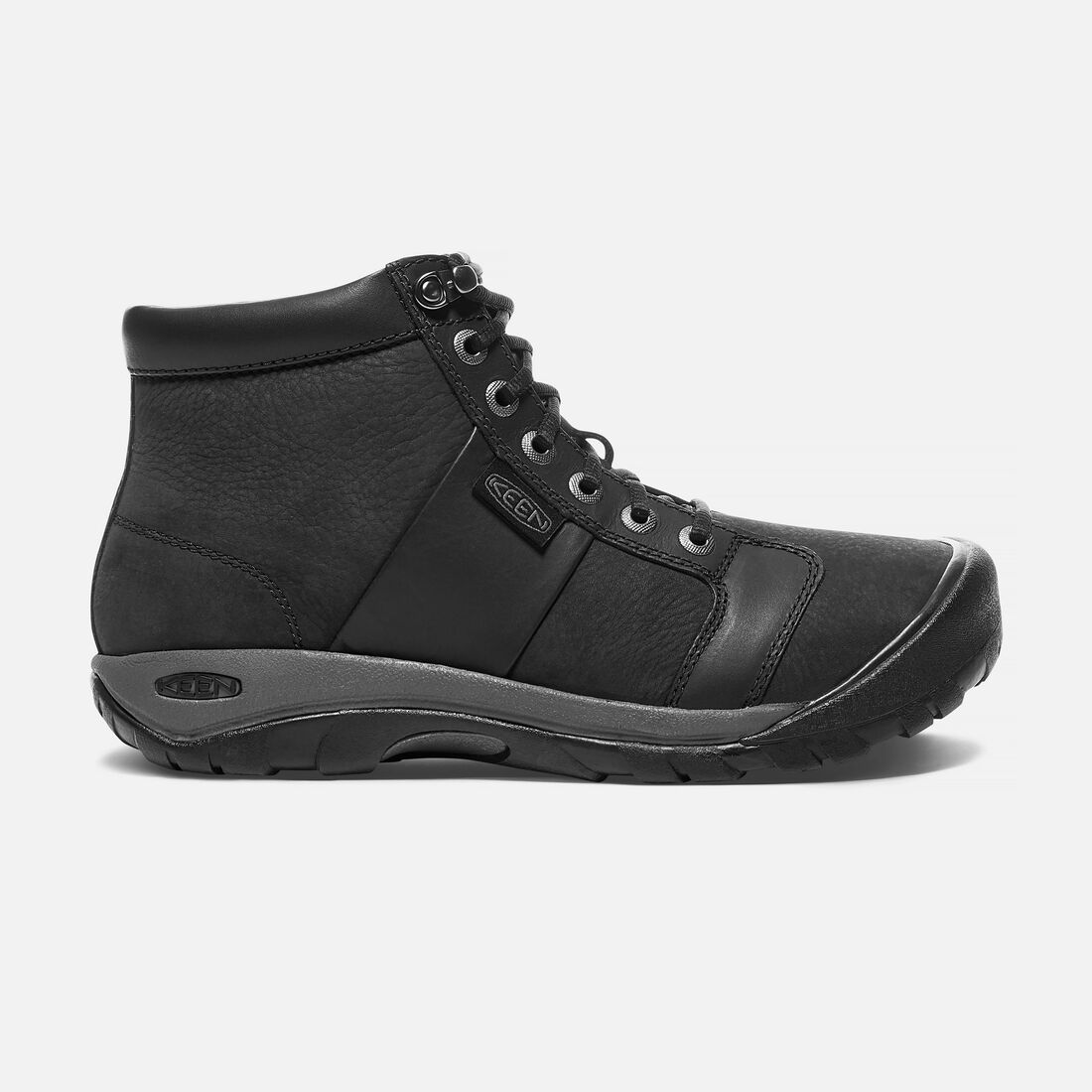 Men's AUSTIN Waterproof Mid in Black - large view.