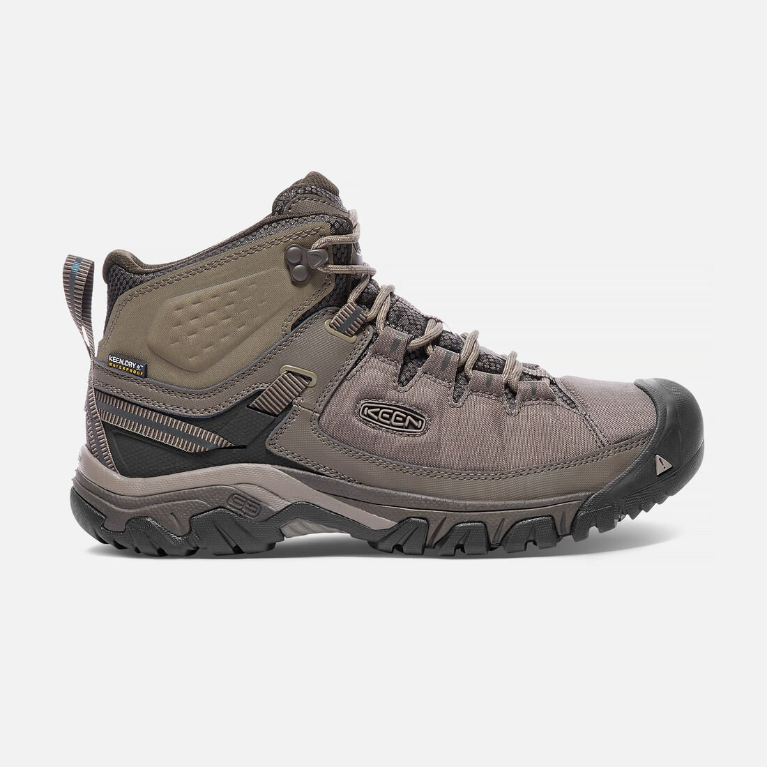 MEN'S TARGHEE EXP WATERPROOF  WIDE FIT HIKING BOOTS in Bungee Cord/Brindle - large view.