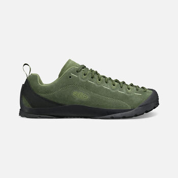 MEN'S JASPER CASUAL TRAINERS in BLACK FOREST/CLIMBING IVY - large view.