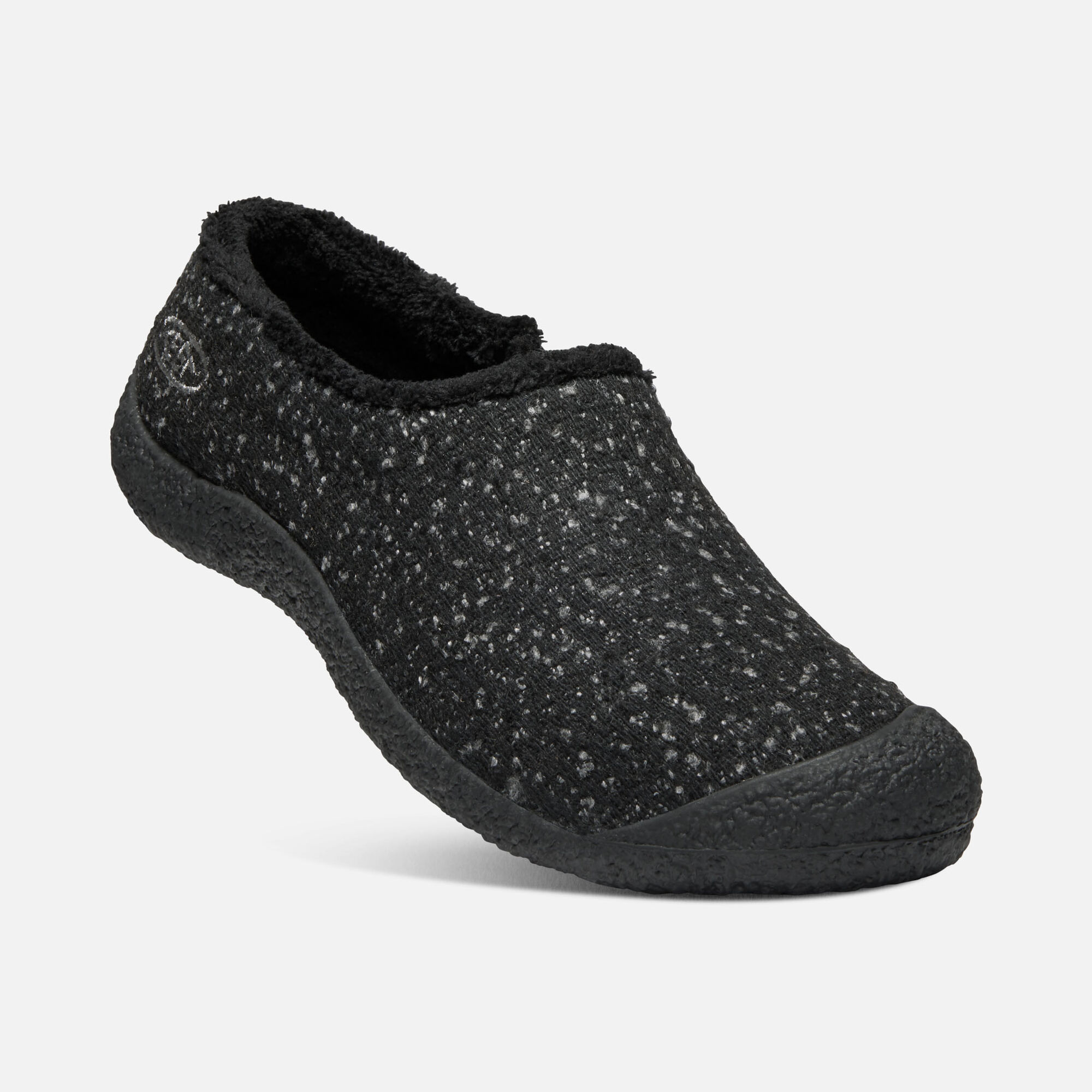 a1c5519a0fd Women s Howser Wool Slide in BLACK KNOBBY STEEL GREY - small view.
