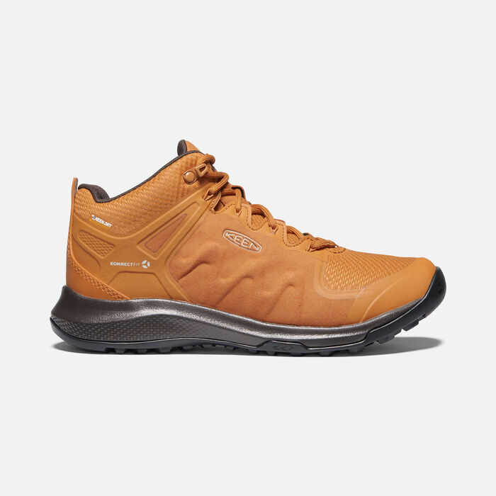 Explore Waterproof Wanderstiefel für Damen in Pumpkin Spice/Mulch - large view.