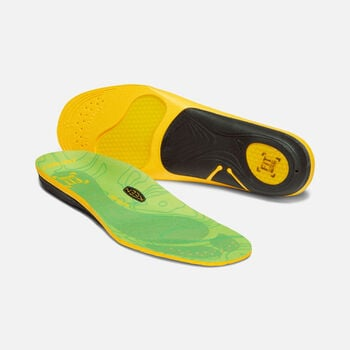 Women's Outdoor K-30 Low Arch Insoles in GREEN - large view.